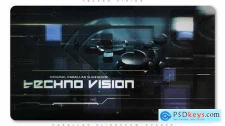 Videohive Techno Vision Parallax Slideshow 20109249