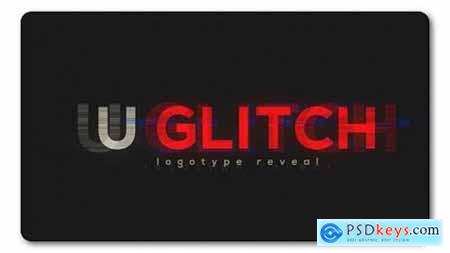 Videohive Ultra Glitch Logo Reveal 19424185