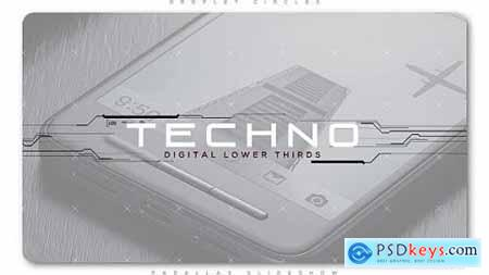 Videohive Techno Digital Lower Thirds 20160814