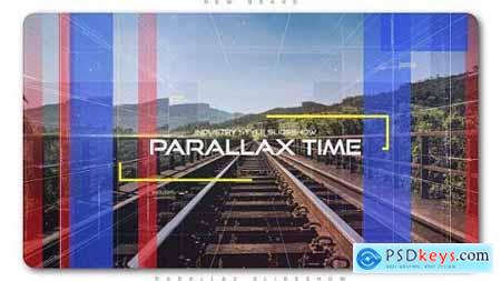 Videohive The Time Industry Parallax Slideshow 20364137