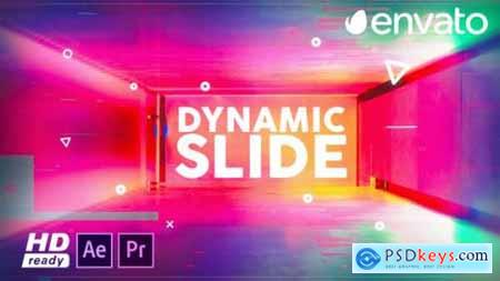 Videohive Dynamic Slide for Premiere Pro 23750340