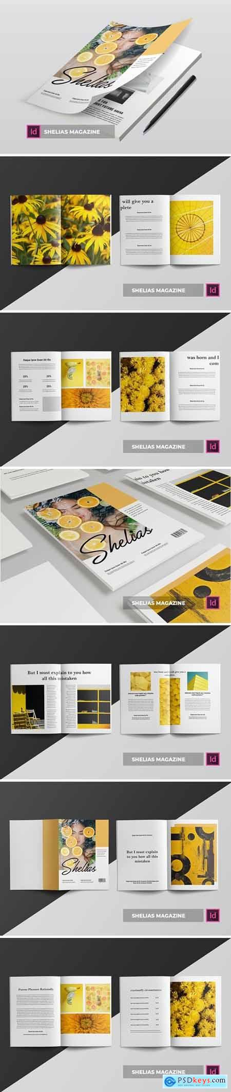 Shelias Magazine Template