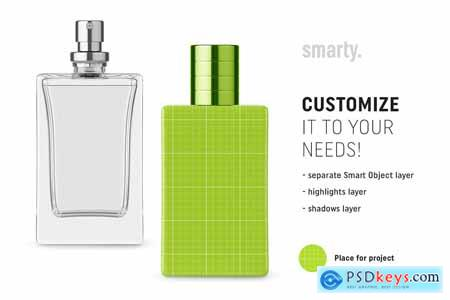 Perfume bottle mockup 3456209