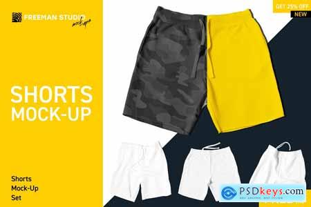 Shorts Mock-Up Set 4158740