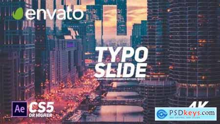 Videohive Rhythmic Typo Slide 23310567
