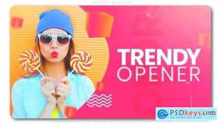 Videohive Trendy Opener 24044488