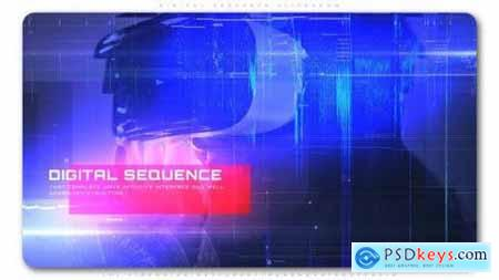 Videohive Digital Sequence Slideshow 23896479