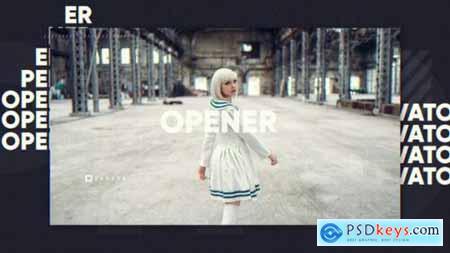 Videohive Typographic Opener 23275412