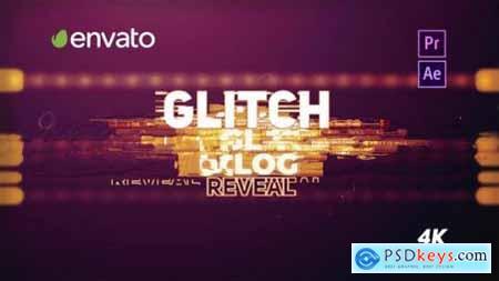 Videohive Glitch Logo Reveal Premiere Pro 23334229