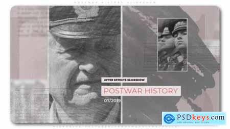 Videohive Postwar History Slideshow 24082300