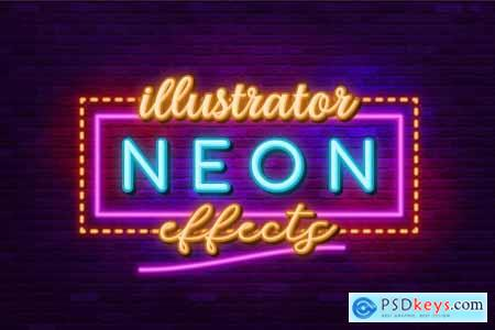 Neon Sign-Illustrator Effects 4115171