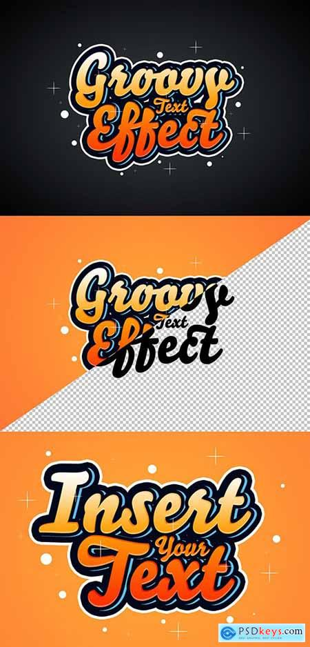 Retro Text Effect Mockup 291973369