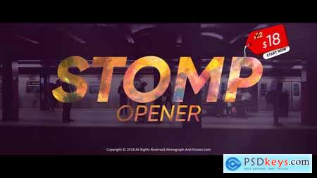 Videohive Stomp Opener 23040788