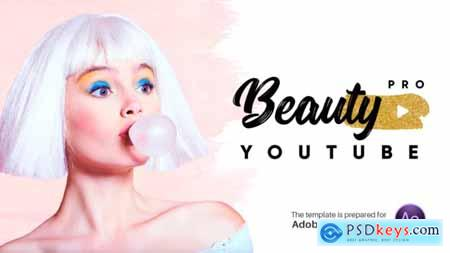 Videohive Beauty Pro Youtube Pack V.1.2 23165557