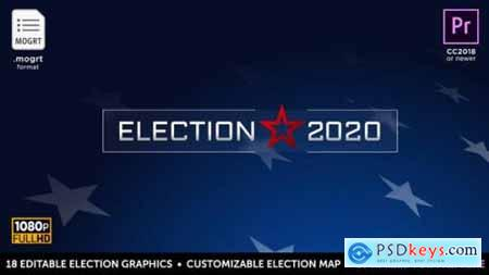 Videohive Election Essentials 2020 MOGRT for Premiere 22624000