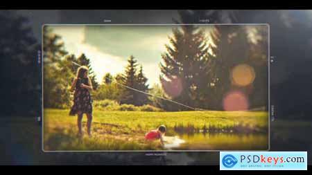 Videohive Happy Moments Cinematic Slideshow 22954600