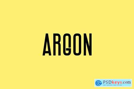 ARGON - Display Headline Typeface 4174282