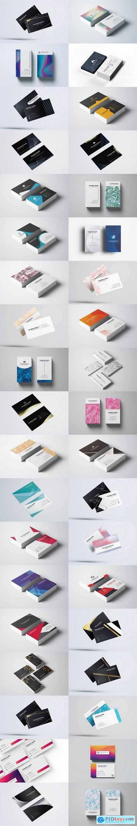 Business Card Templates Big Pack