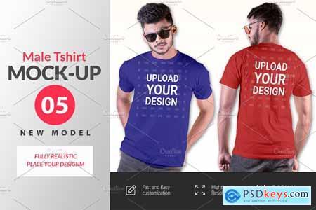 Male t-shirt Mockup-V-2-002 4180927