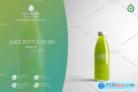 Juice Bottle SM Mock-Up #3 [V2.0] 4177566