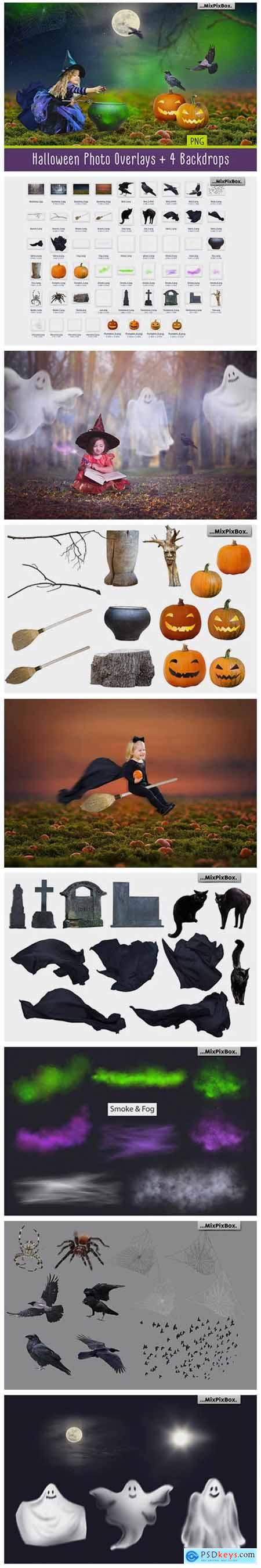 Halloween Photo Overlays 1786549