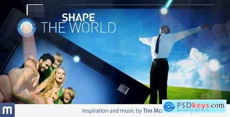 VideoHive Shape The World 2227909