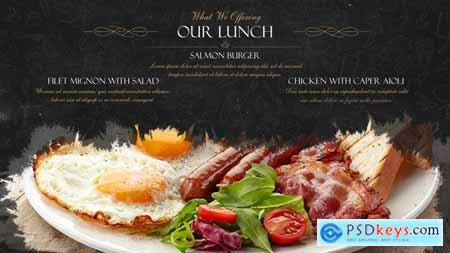 VideoHive Restaurant Dishes Presentation 2262219