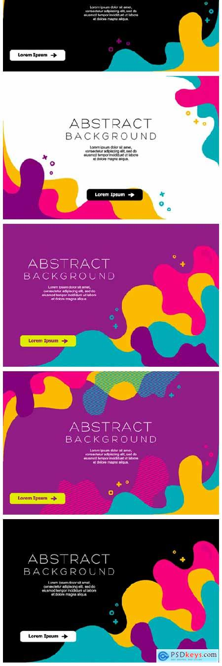 Abstract Colorful Background Vector 1844917