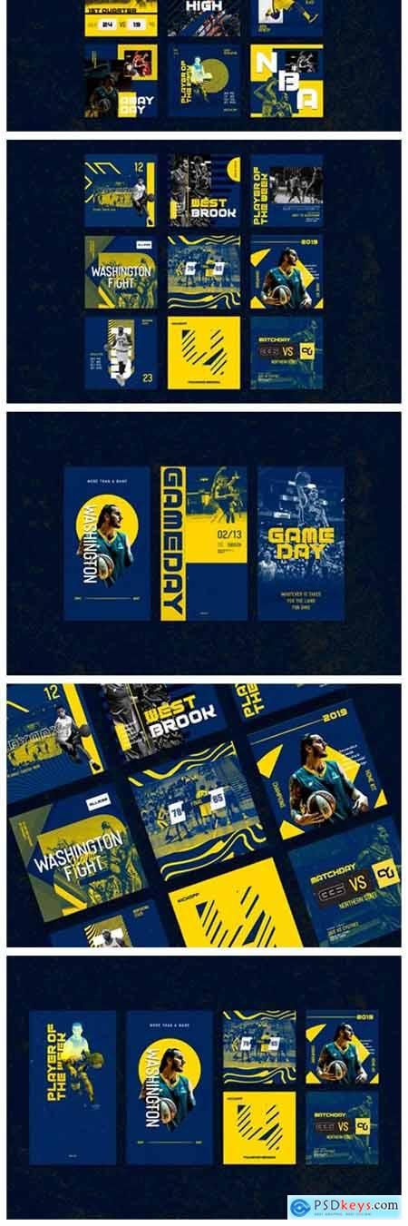 Basketball Instagram Templates 1845173