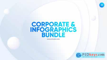 Videohive Corporate Infographics Bundle 21669208