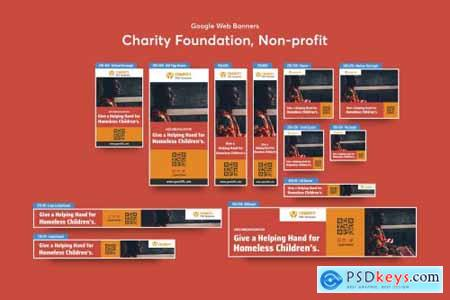 Charity Foundation, Non-profit Banners