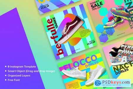 Sneakers Market Social Media Kit