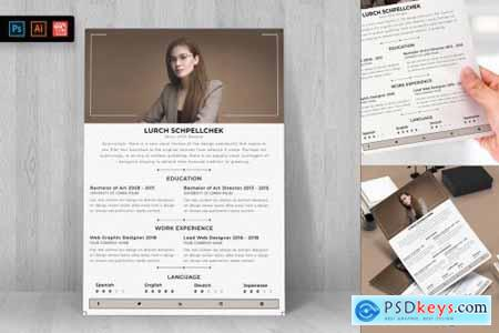 Resume CV Template-34