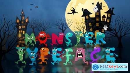 Videohive Monster Typeface After Effects Template 24792969