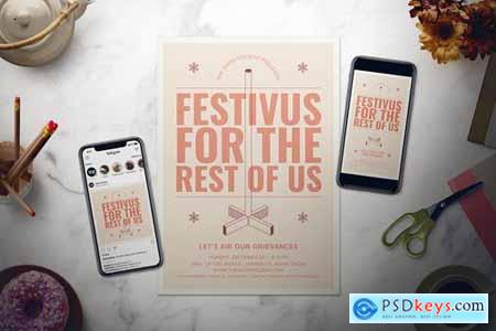 Festivus Flyer Set