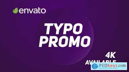 Videohive Typo Promo 22414587
