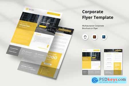 Marketing Corporate Flyer Template