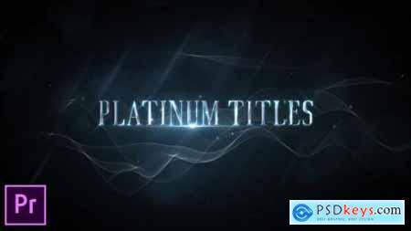 Videohive Platinum Luxury Titles Premiere Pro 24823171