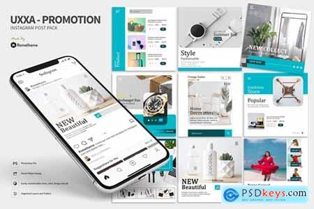 UXXA - Product Promotion Instagram Post Pack HR