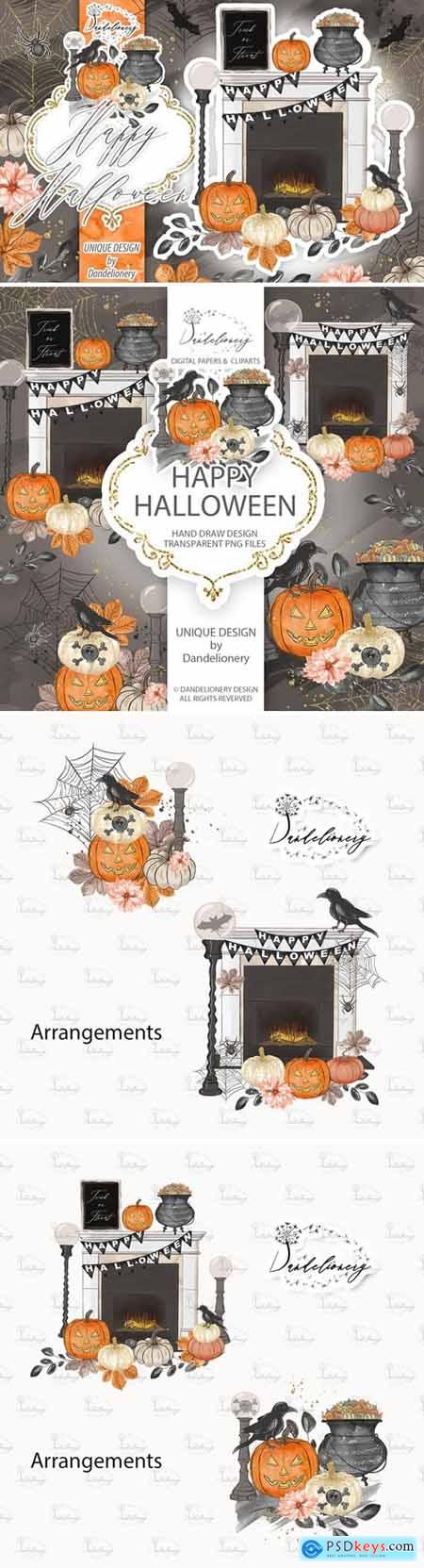 Happy Halloween design