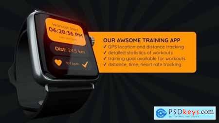 Videohive Smart Watch App Presentation for Final Cut Pro X 24794073
