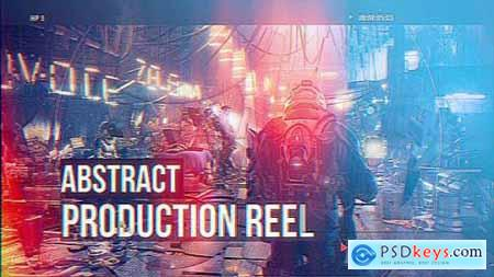 Videohive Abstract Production Reel 18106882