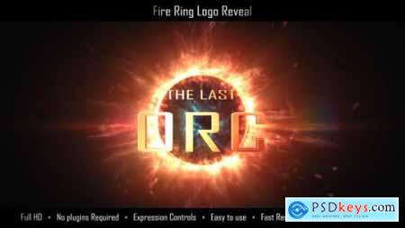 Videohive Fire Ring Logo Reveal 16869891