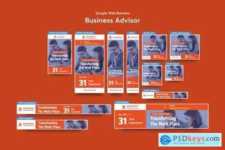 Business Advisor Banners Ad