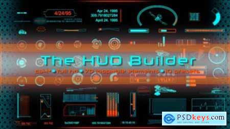 Videohive The HUD Builder 6212525