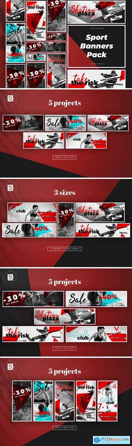 Sport Banners Pack