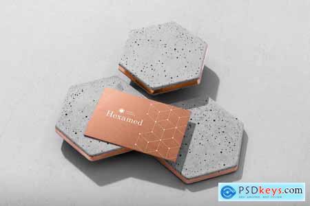 Hexamed Branding Mockup 4126226