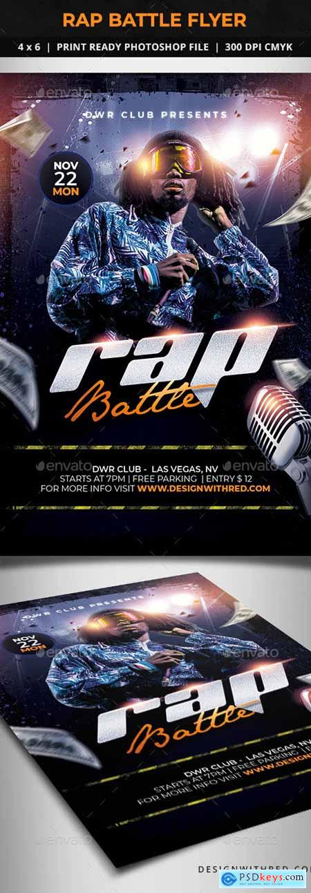 Rap Battle Flyer 24794508