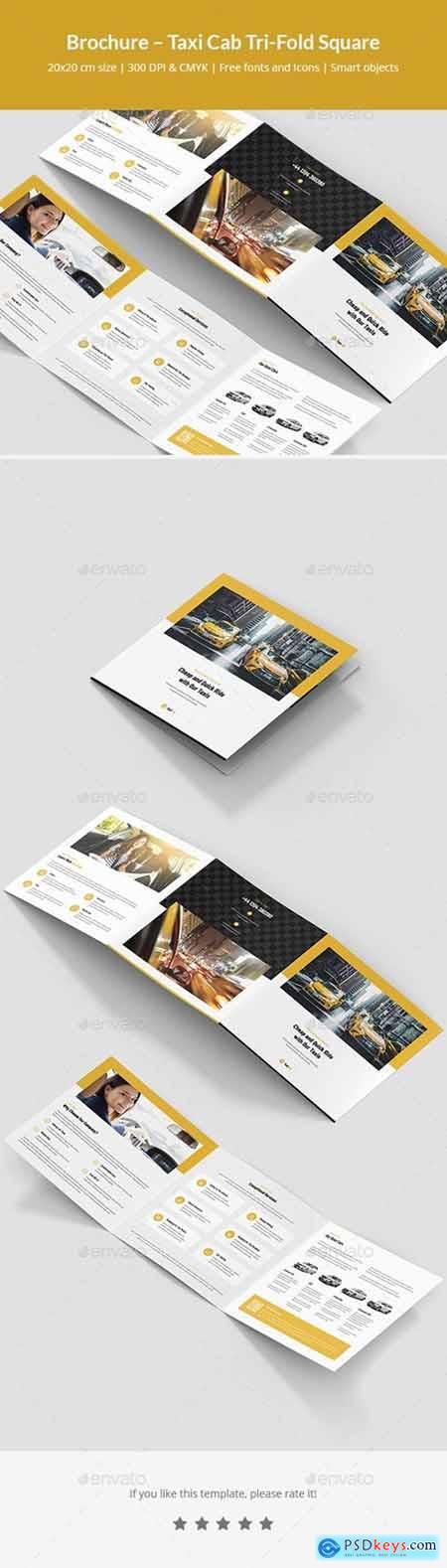 Brochure – Taxi Cab Tri-Fold Square 24820033