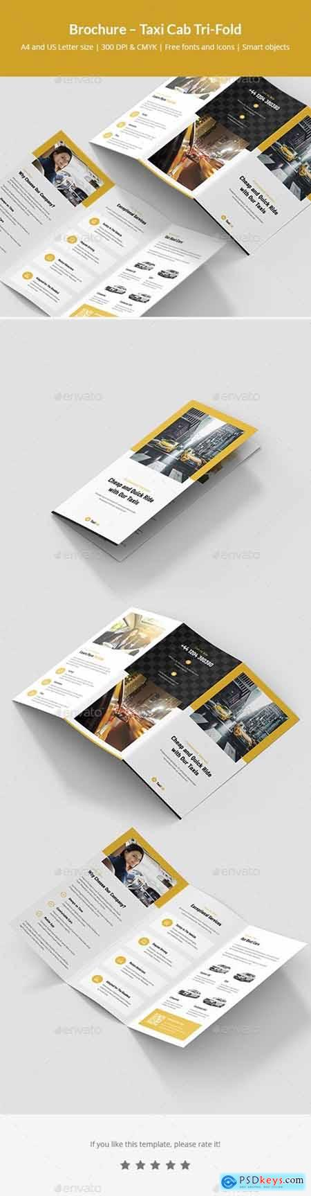 Brochure – Taxi Cab Tri-Fold 24819420